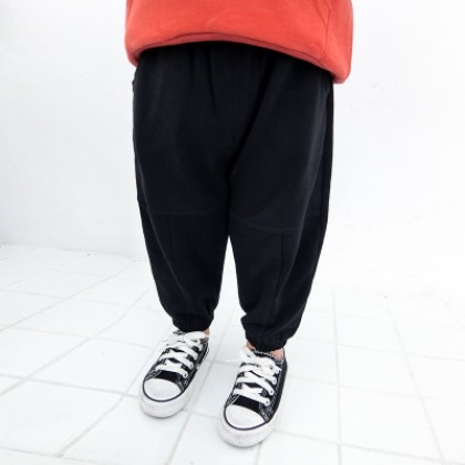 Kids Children Boy Black Casual Sports Fashion Harem Long Pants Trousers