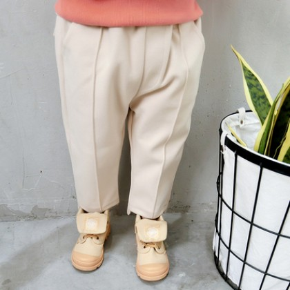 Kids Children Boy Casual England Beige Outing Long Pants Trousers