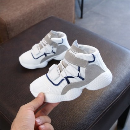 Kids Children Girl Cute Cool Elastic Sports Running Casual Outing Shoes