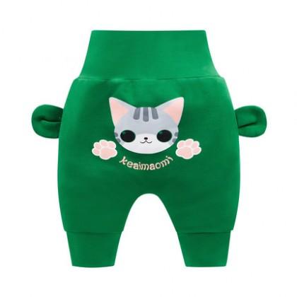 Baby Cute Girl Boy Animal Theme Comfortable Leggings Long Pants Trousers