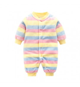 Baby Cute Girl Boy Keep Warm Thick Winter Pajamas Sleepwear