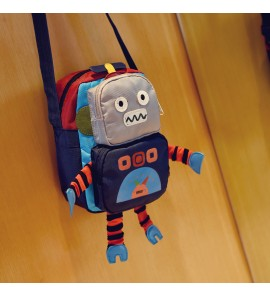 Kids Children Boy Robot Baby Messenger Tide Fashion Boy Child Bag