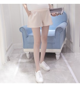 Women Pregnant Wear Loose Shorts Wide Leg Bottoming  Maternity Pants