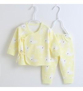 Baby Newborn Clothes Cotton Winter Thin Dress 0 - 3 months One Set