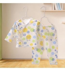 Baby Newborn Clothes Spring Autumn Cotton 0-3 Months Underwear Set