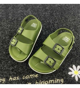 Kids Children Boy Summer Plastic Beach Shoes Non-slip Sandals