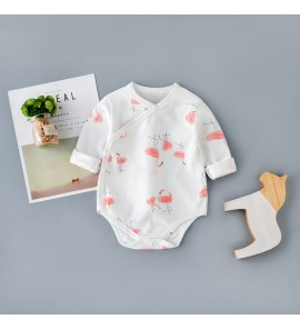 Baby Triangle Long-Sleeved Spring Autumn Clothes Newborn Dress Set
