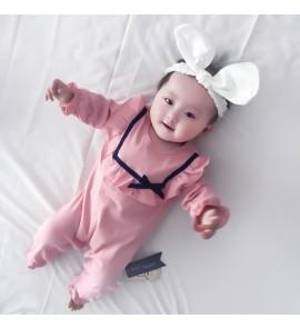 Baby Newborn Female Clothes Pajamas Autumn Winter Sleepwear