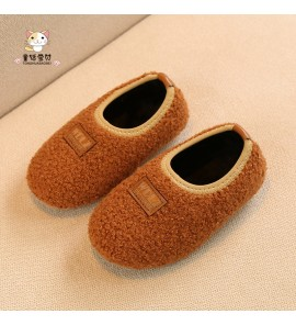 Kids Children Girl Winter Soft Indoor Floor Toddler Bottom Shoes