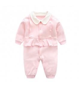 Baby Newborn Princess Cotton Clothes Summer Autumn Long Sleeve Dress Set