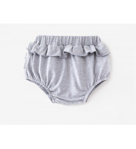 Baby Newborn Summer Shorts Girl Leaf Out Briefs Bottom