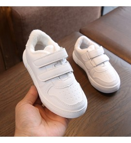 Kids Children Girl Primary School Cotton Casual Sports Shoes