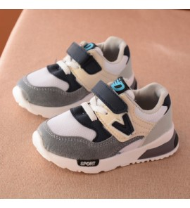 Kids Children Boy Winter Net Cotton Sports RubberShoes