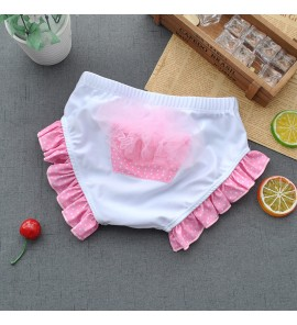 Baby Infant Swimming Trunks Female Lace Cute Swimsuit