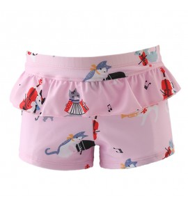 Baby Swimming Trunks Female Boxer Big Middle School Swimsuit