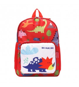Kids Children Boy Kindergarten School Anti-Lost Backpack Shoulder Bag