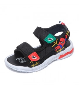Kids Children Boy Korean Summer Sandals Spiderman Beach Shoes