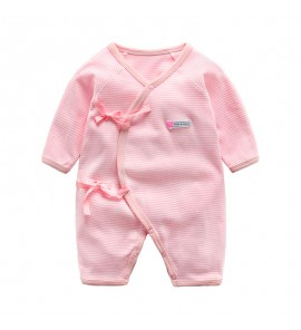 Baby Spring Long Sleeve Monk Dress Cotton Pajamas Sleepwear