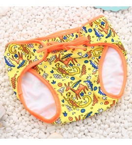 Baby Cute Cartoon Trunks Hot Spring Bathing Swimsuit