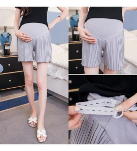 Women Summer Thin Section Wear Stomach Lift  Maternity Shorts