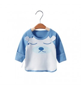 Baby Monk Clothing  Newborn Single-Piece blouse Half-back Baby Clothing Tops