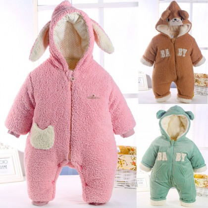 Baby Onesies Winter Coats Padded Baby Clothing Winter Wear