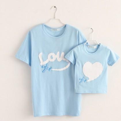 Women Parent-Child T-Shirt Clothing Travel Family of Three Parent Child-Clothing