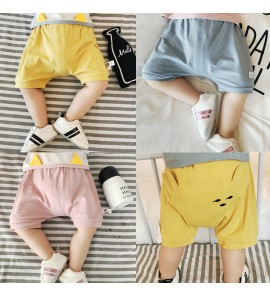 Baby Bottoms Summer Butt Shorts Bears Print Cotton Stretch Baby Clothing Bottoms