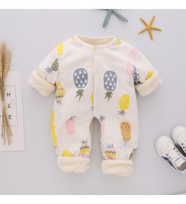 Baby Sleep Wears Thermal Newborn Onesies Winter Rompers Baby Clothing Sleep Wear