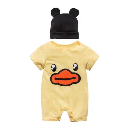 Baby Sleep Wear Siamese Clothes Suit Pajama Ultra Cotton Baby Clothing Sleep Wear