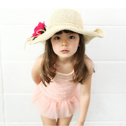 Baby Girls Swimwear Princess Children's Cute Korean Outfit Baby Clothing Swimwear