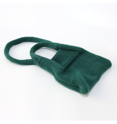 Kids Girls Bag Hand Woven Small Korea's autumn and winter wool knit Bag Cute Bag