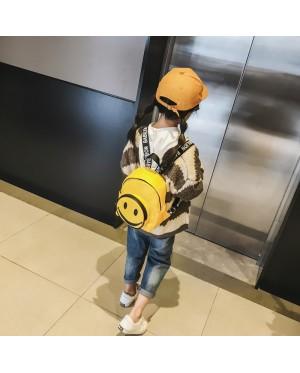Kids Boys Bag Children Backpack cute smiley Mini Small Bag Leisure Tide Child Bag
