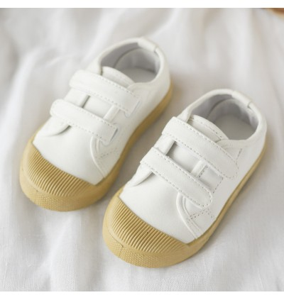 Kids Girls Shoes  Soft Bottom Canvas Pedal Breathable Wild Children Shoes Flats
