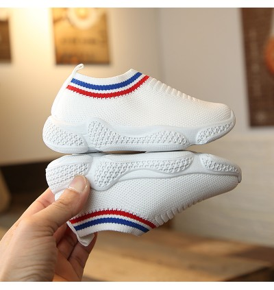 Kids Boys Shoes Spring Children's Korean Version of Breathable Sports Soft Shoes