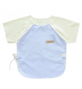 Baby Tops Newborn Half Back Clothing Cute Monk Cotton T Shirt Short Sleeved Comfy