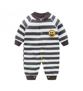 Baby Winter Clothes Wear Stripe Autumn Onesies Cute Newborn Soft Cotton Rompers