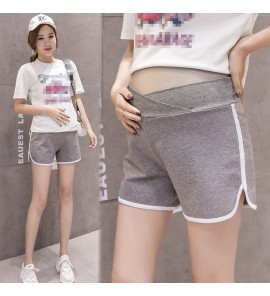 Women Maternity Shorts Summer New Korean Version Cotton Sexy Casual Wear Outside