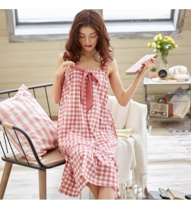 Women Maternity Sleepwear Night Dress Loose Fresh Korean Version Summer Pajamas