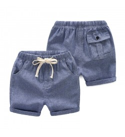 Kids Clothing Boys Bottoms Denim Shorts  Korean Outfits Summer Open Style Pants