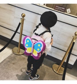 Kids Girl Bag Children Summer New Cute Backpack Colorful Butterfly Kindergarten