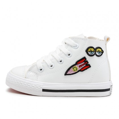 Kids Boys Shoes Children's White New Casual Cute Sneakers Sports Wear Resistant