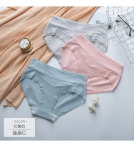 Women Maternity Underwear Pregnancy Breathable Female Soft Cotton Low Waist Wear