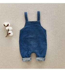 Baby Clothes Dress Sets Summer and Spring Wear Outfits Baby Dungarees Wear Denim
