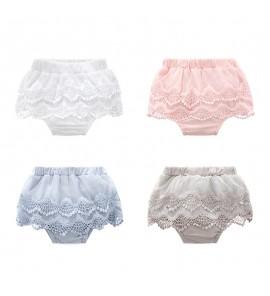 Baby Clothing Bottoms Girls Children' s Lace Summer Newborn Shorts  Harem Pants