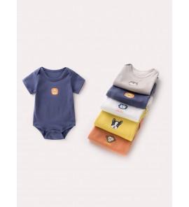 Baby Clothing Sleepwear Newborn Children's Clothes Cotton  Summer Jumpsuits Wear
