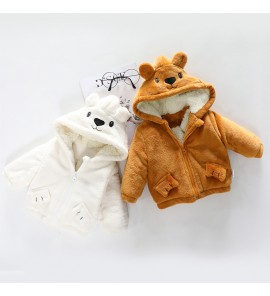Baby Winter Clothing Infant Thick Jacket Children's  Weather Coat Cotton Clothes