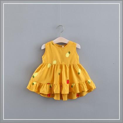 Baby Dress Sets Clothing Newborn Female Cute Floral Summer Koreans Cotton Dress