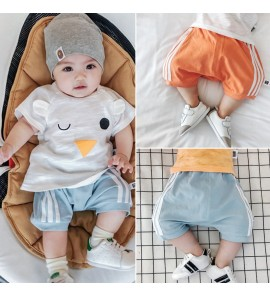 Baby Clothing Bottoms Shorts Summer Thin Section Cotton Fart New Trousers Pants
