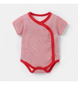 Baby Clothing Sleepwear Newborn Siamese Cotton Summer New Clothes Short -Sleeved